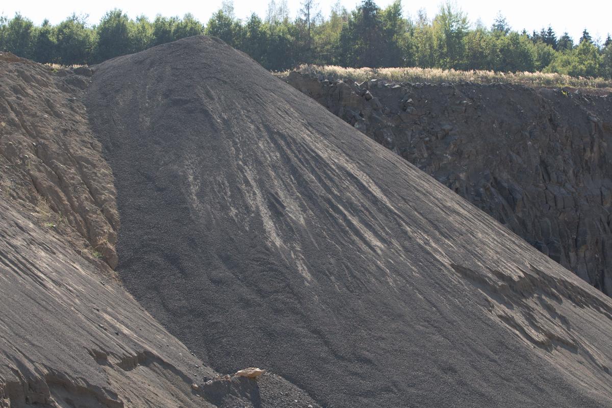 Verfüllmaterial Vogelsberger Basalt